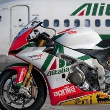 Galería de imágenes de la Aprilia Alitalia RSV4 de SBK