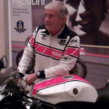Agostini descubre una Yamaha YZF-R1 Ago que será subastada con fines benéficos