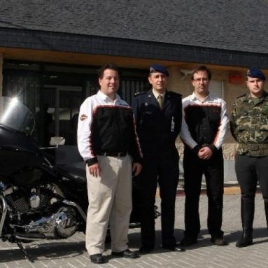 La Guardia Real española renueva su flota con tres Harley-Davidson Electra Glide Standard 2009
