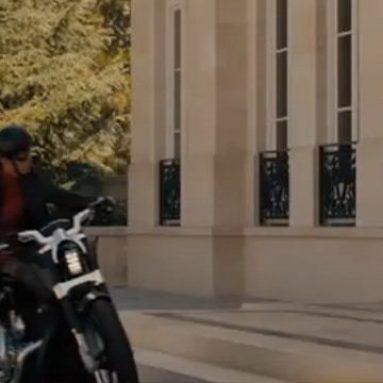 La Harley-Davidson V-Rod en The Green Hornet