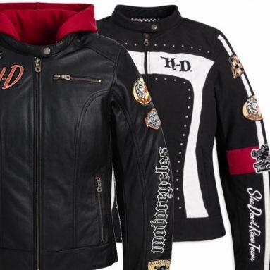 La moda más racer de Harley-Davidson, para ella