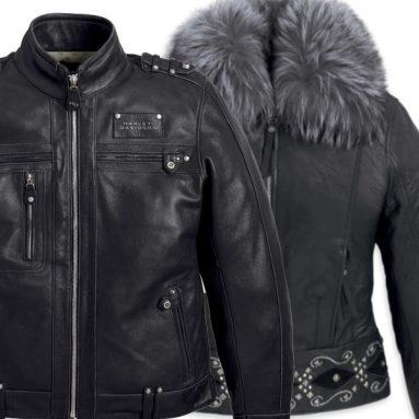 Máxima distinción para las nuevas cazadoras de piel de Harley-Davidson