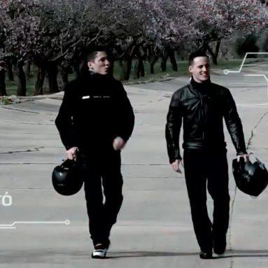 Así conducen los hermanos Espargaró la Yamaha MT-07