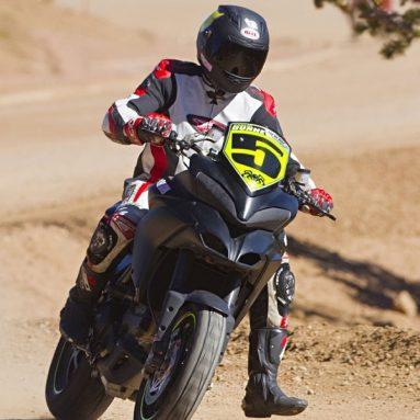 Victoria de récord para la Ducati Multistrada en el Pikes Peak