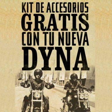 Elige ahora tu Harley-Davidson Dyna y llévate un kit de accesorios gratis