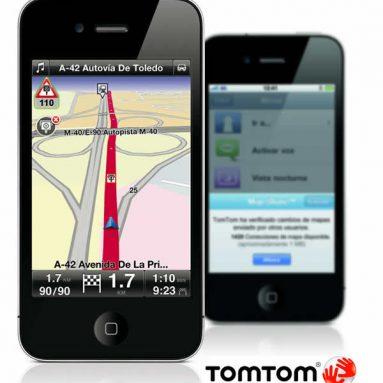 TomTom te avisa de los radares móviles en tu iPhone