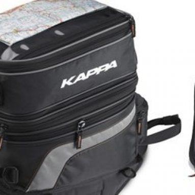 Kappa TK749, la bolsa sobredepósito convertible en mochila