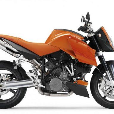 KTM llama a revisión una serie de 990 Super Duke del año 2006