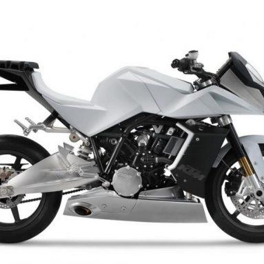 KTM prepara la RC8 Venom, la versión naked de la espectacular RC8