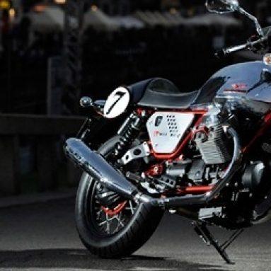 Las nuevas Moto Guzzi V7 Racer, Norge GT 8V y Stelvio 1200 NTX presentadas en Intermot