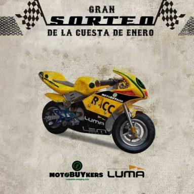 ¿Quieres una minimoto eléctrica? Luma y Motobuykers te la regalan