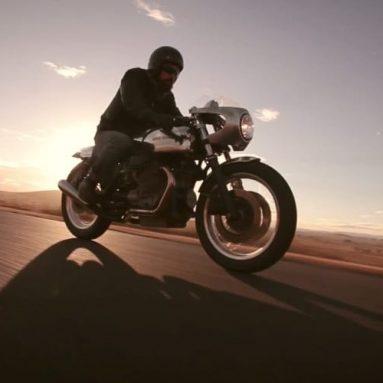 Machine, video emocional con una moto de Matt Darwon