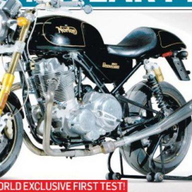 MCN prueba la nueva Norton Commando 961