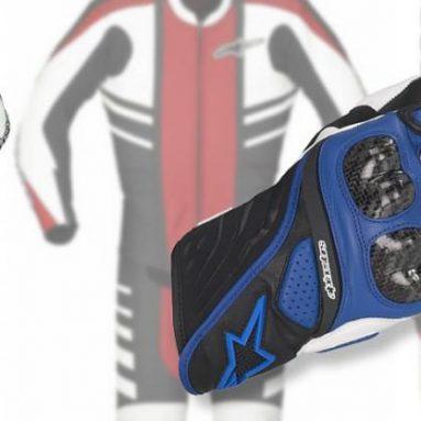 Mono CR y guantes SP-5, novedades de la colección '09 de Alpinestars