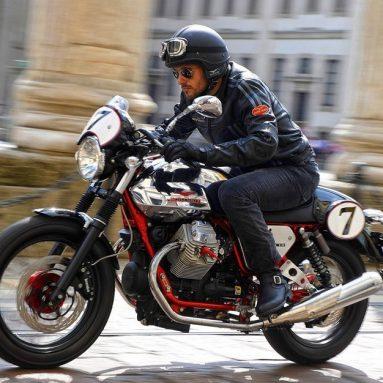 Moto Guzzi V7 Racer 2010, el video oficial