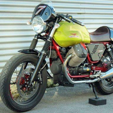 Moto Guzzi V7 Racer Verde Legnano edición limitada