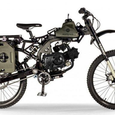 Motoped Black Ops, el ciclomotor extremo de Mad Max