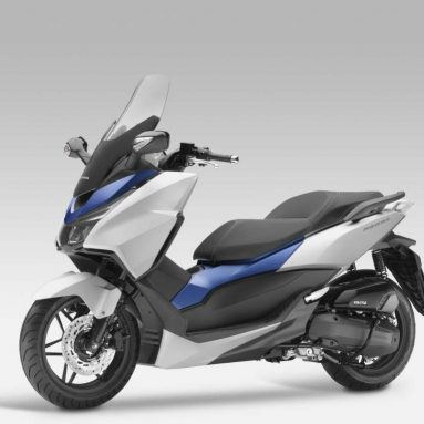 Nueva Honda Forza 125 en el Salón de París