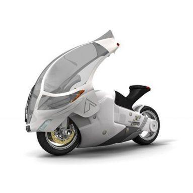 Crossbow Concept, o una Suzuki Nuda con carenado móvil