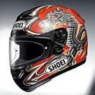Nuevo casco X-Spirit Kyonari replica de Shoei