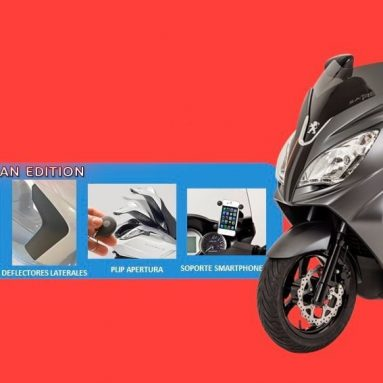 Oferta en el Peugeot Satelis 125: un kit de accesorios de 500€ de regalo