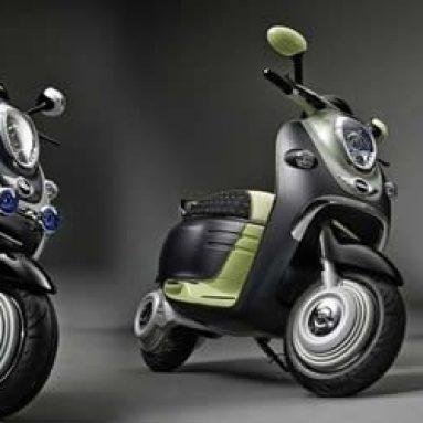 Primeras imágenes del MINI Scooter E Concept