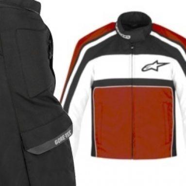 Protección y versatilidad para las prendas de la colección Alpinestars 2011
