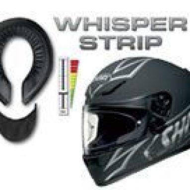 Reduce el nivel de ruido con «Shoei whisper strip»
