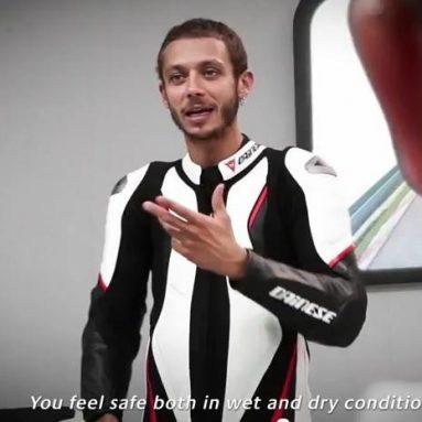 Valentino Rossi habla sobre los Bridgestone Battlax Hypersport S20