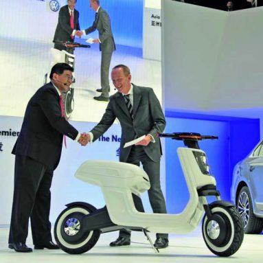 E-scooter de Volkswagen. La e-propuesta de la marca alemana para el mercado chino