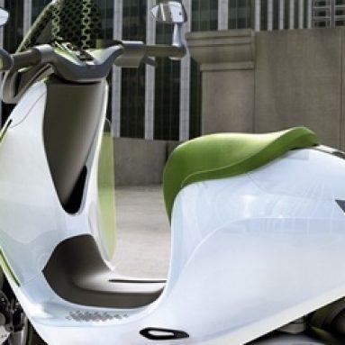 smart sorprende con un scooter eléctrico