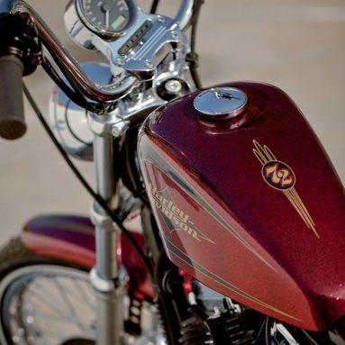 Líneas estilizadas para la nueva Harley-Davidson Sportster 72