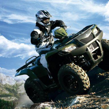 Suzuki completa su oferta en ATV con el nuevo KingQuad 450