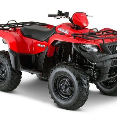 Suzuki actualiza el KingQuad 500AXI