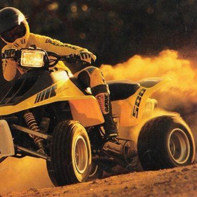 Suzuki TL 500 R. ¡¡Quadzilla!!