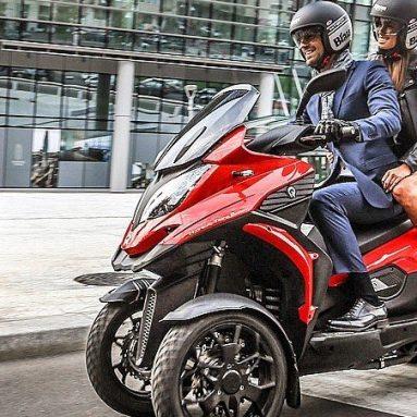 Quadro 3 2017, la scooter con la estabilidad de un coche