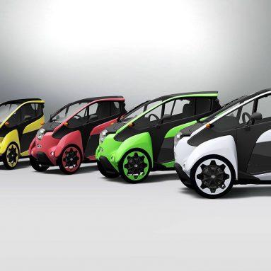 El Toyota I-ROAD eléctrico ya está en la calle, pero solo en Japón