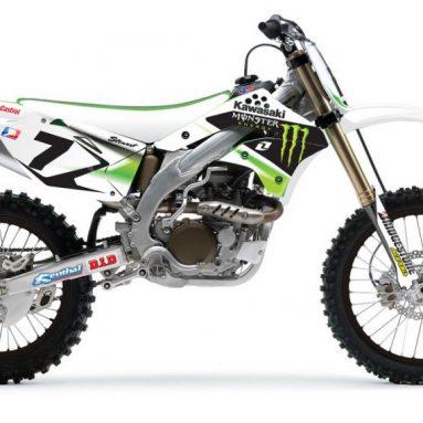 Transforma el look de tu Kawasaki KXF o tu KTM SX en toda una réplica de competición