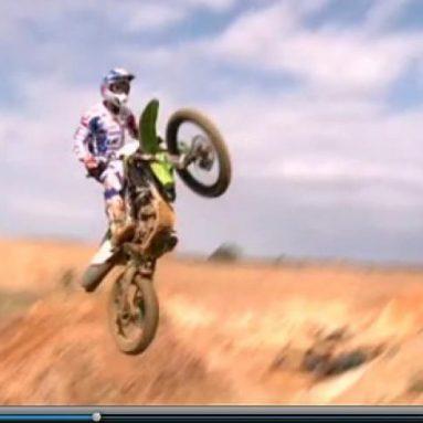 Video de Sébastien Pourcel probando la nueva Kawa KX450F