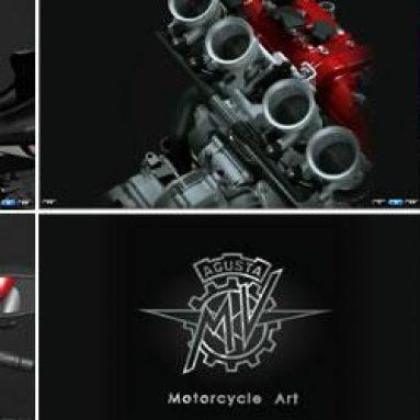 Videos · El motor y chasis de la MV Agusta Brutale 990R y 1090RR al detalle