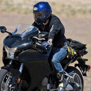 Una web americana publica las primeras imágenes de la Honda VFR V4