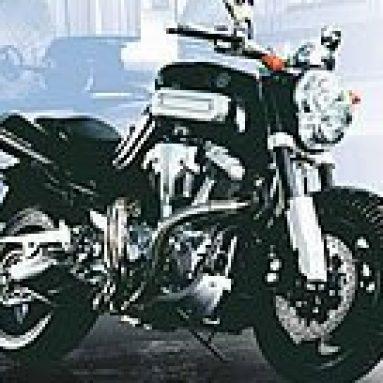 La Yamaha MT-01 2004