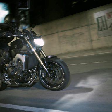 Yamaha MT-09, el lado oscuro de Japón