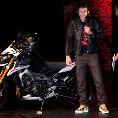 Yamaha MT-09 Street Rally: versión motard presentada por Rossi