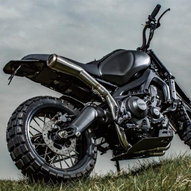 Yamaha XSR900 2016 Yard Built Monkeebeastt de Wrenchmonkees