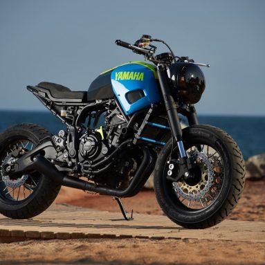 Yamaha Yard Built XSR700 2016 Otokomae de Ad Hoc Café Racers