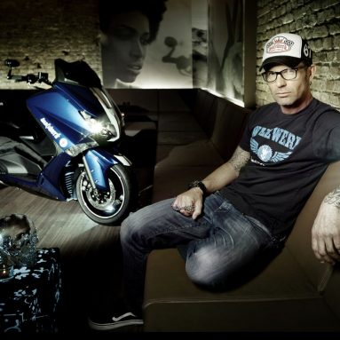 La Yamaha TMAX Hyper Modified según Marcus Waltz