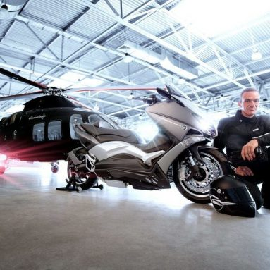 Ludovic Lazareth desvela su versión Hyper Modified de la Yamaha T-MAX
