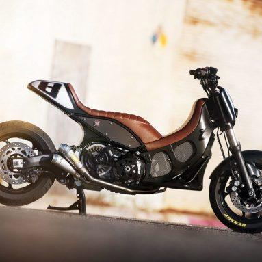 ¿Adivinas qué scooter es? Una pista, lleva el sello de Roland Sands