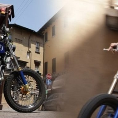 Zaeta 530, la dirt track de Paolo Chiaia y Graziano Rossi